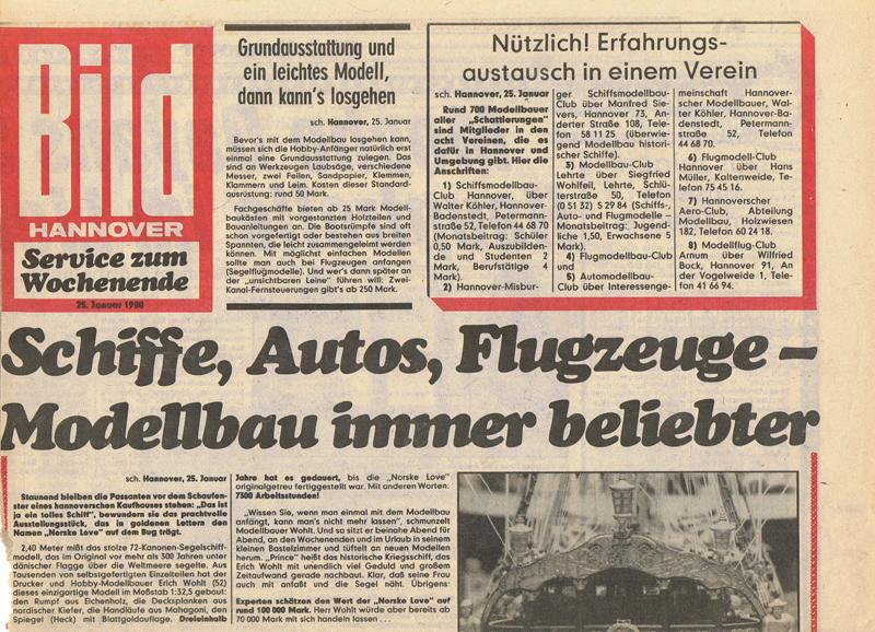 Bildzeitung 1980